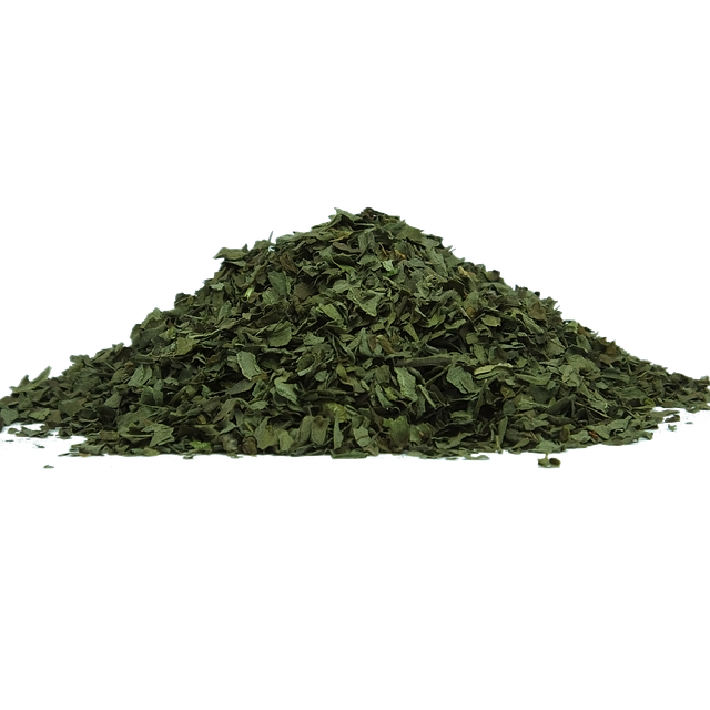getrockneter Basilikum