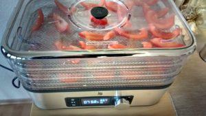 WMF Dörrautomat mit Tomaten