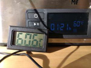 WMF Dörrgerät Temperatur