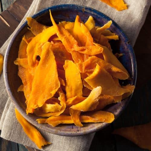Getrocknete Mango machen